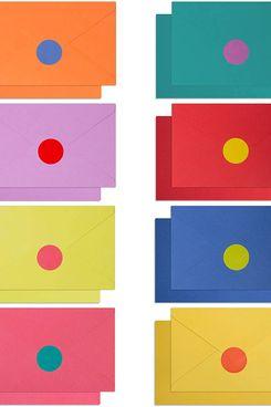 120 cartes vierges avec enveloppes et autocollants