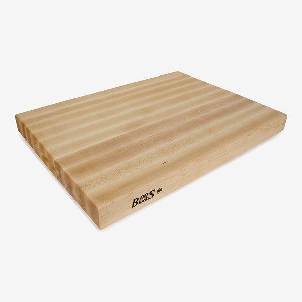 Planche à découper réversible John Boos en érable et bois de chêne.