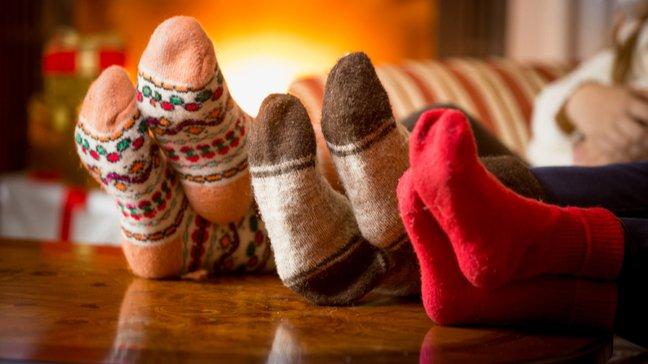 Des joyaux abordables : 55 idées de cadeaux de Noël bon marché - Chaussettes